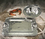 Beatriz Ball Crab Rect Platter (Md)