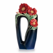 Franz The Serenity poppy flower large vase