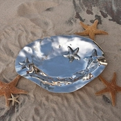 Beatriz Ball Ocean Starfish Bowl Oval Large