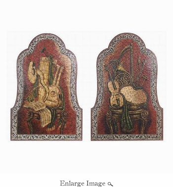 Wall Panel, Pr. Musical Instruments