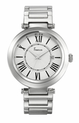 Freelook Watch CORTINA-Stainless steel white dial-roman numerals