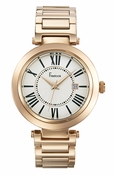 Freelook Watch CORTINA-Rose Gold plated-white dial-roman numerals - CLOSEOUT FINAL SALE