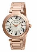 Freelook Watch CORTINA Matte Rose Gold Plated-roman numerals