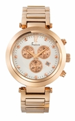 Freelook Watch CORTINA Chrono-Rose Gold-White dial