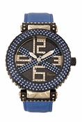 Freelook Watch Stardust X-Blue/BlueSwarovski xtals