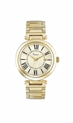 Freelook Watch Yellow Gold Shiny Roman Numerals