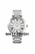 Freelook Watch Stainless Steel Matte Roman Numerals