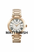 Freelook Watch Rose Gold Matte Roman Numerals