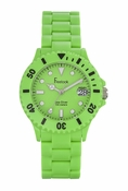 Freelook Watch Seadiver Green Band, Green Dial
