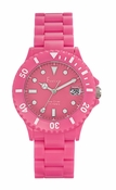 Freelook Watch Seadiver Pink Band, Pink Face
