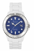 Freelook Watch white blue dial