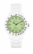 Freelook Watch Green Fog
