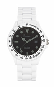 Freelook Watch Seadiver Watch White & Black - CLOSEOUT FINAL SALE