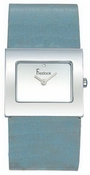 Freelook Watch Square blank dial with large textured leather band