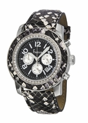 Freelook Watch ALPINA Black Snakeskin