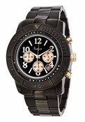 Freelook Watch Glamour Metal-Black