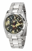 Freelook Watch CAMOUFLAGE dial SS case &bracelet