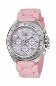Freelook Watch Aquamarina III Pink Band/Pink MOP dial/swarovski indexes