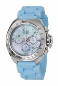 Freelook Watch Aquamarina III Blue Band/Blue MOP dial/swarovski indexes