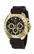 Freelook Watch Aquamarina III Black Band/Gold Case/black dial