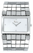 Freelook Watch Multiple Row Square Bracelet SS square case