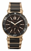 Freelook Watch Lagon Bleu - Ceramic Black/RG