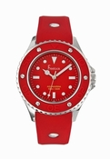 Freelook Watch Aquajellly red with red dial