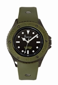 Freelook Watch Aquajelly ARMY GREEN black dial