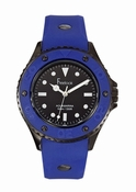 Freelook Watch Aquajelly blue with black dial