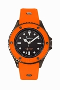 Freelook Watch Aquajelly orange-black dial