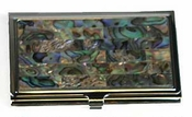 Tizo Mother of Pearl Abalone Card Case