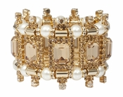LK Jewelry Versaille Bracelet with Pearls