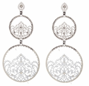 LK Jewelry Tzahala Pierced Earrings