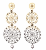 LK Jewelry Sari Pierced Earrings