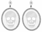 LK Jewelry Skull Pierced Earrings