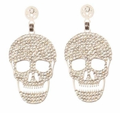 LK Jewelry Skull Pierved Earrings