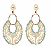 LK Jewelry Aderes Pierced Earrings