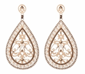 LK Jewelry Pierced Teardrop Earrings