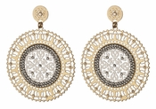 LK Jewelry Macaria Pierced Earrings