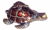 Well Jeweled Turtle Family Box