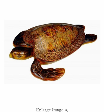 Box, Sea Turtle, Wooden