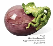 Kaldun & Bogle Glardino Botticelli Eggplant Box with Spoon
