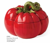 Kaldun & Bogle Glardino Botticelli Tomato Tureen with Ladle
