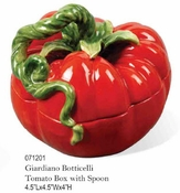 Kaldun & Bogle Glardino Botticelli Tomato Box with Spoon