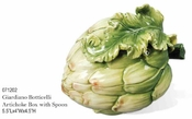 Kaldun & Bogle Glardino Botticelli Artichoke Small Box with Spoon