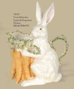 Kaldun & Bogle Lapin Rabbit & Carrots Pitcher