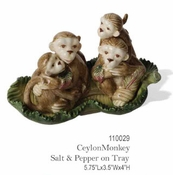 Kaldun & Bogle Ceylon Monkey Salt & Pepper