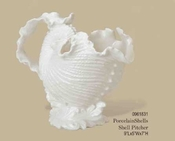 Kaldun & Bogle Porcelain Shell Pitcher