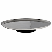 Vera Wang Elements Footed Cake Plate 12""
