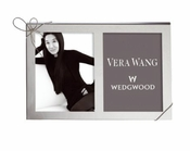 Vera Wang Love Knots Silver 5x7 Double Frame